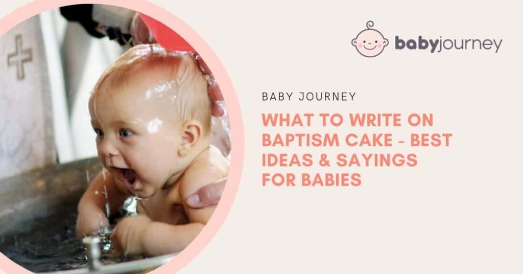 what to write on baptism cake