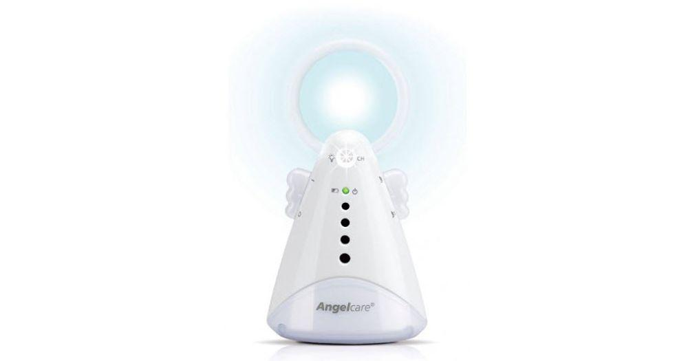 Night Light on the AC420. -Angelcare AC420 Review | Baby Journey