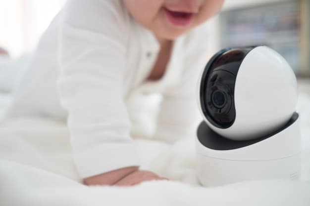 You should keep the baby monitor away from your baby's reach. - Best Non-Wifi Baby Monitor | Baby Journey