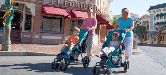 Disneyland Stroller Rental - Is it worth it or should you bring your own?
