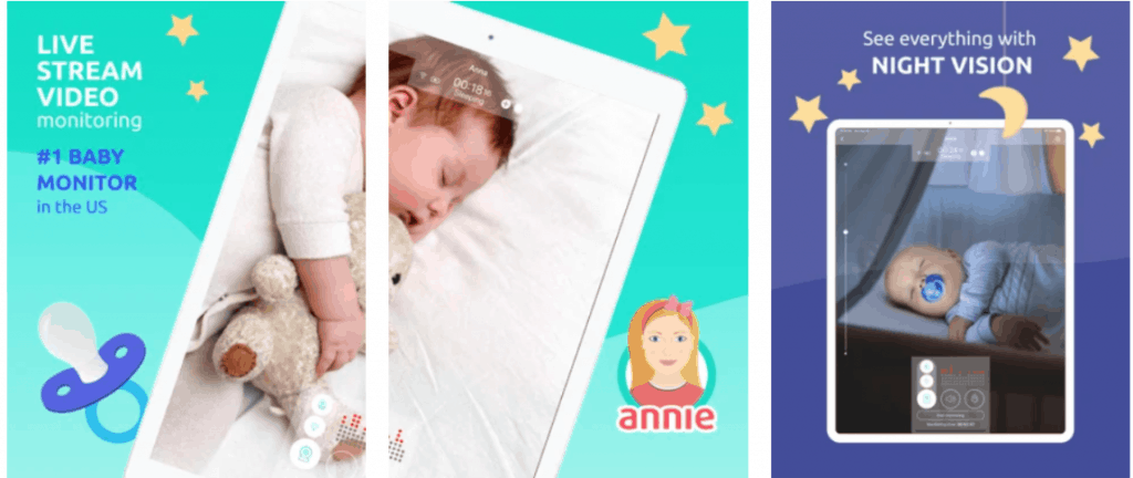Annie Baby Monitor Nanny Cam. - Best Baby Monitor App Review | Baby Journey