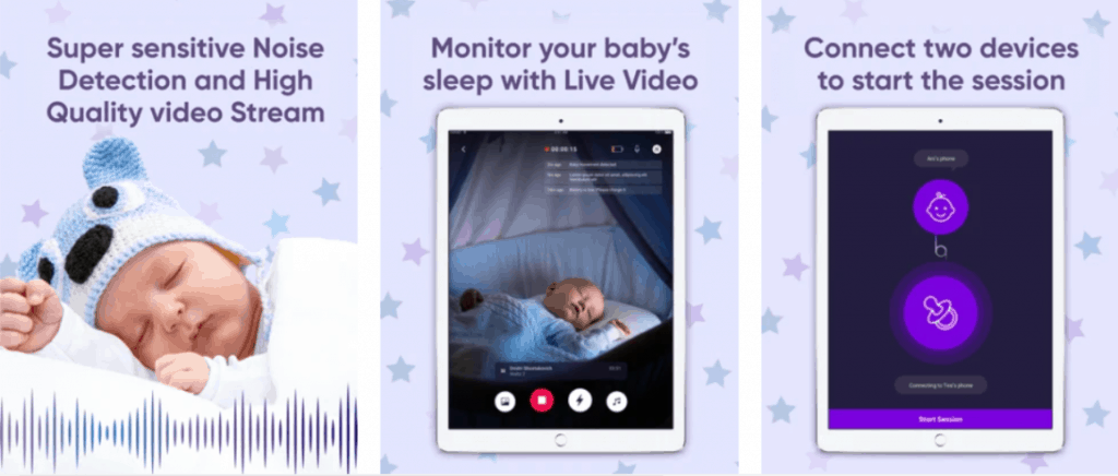 Baby Monitor for iPhone app. - Best Baby Monitor App Review | Baby Journey