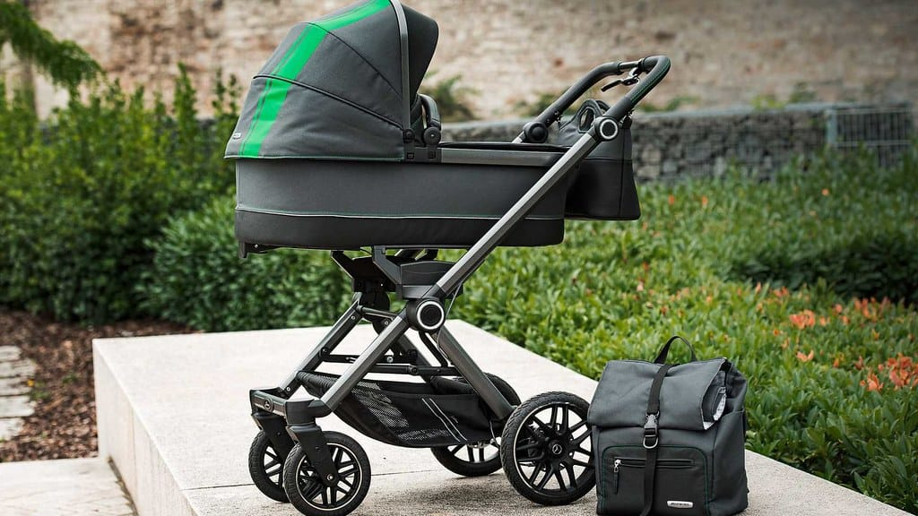 Luxury strollers tend to have premium fabrics and handles that are not found in budget strollers. - Best Affordable Stroller | Baby Journey