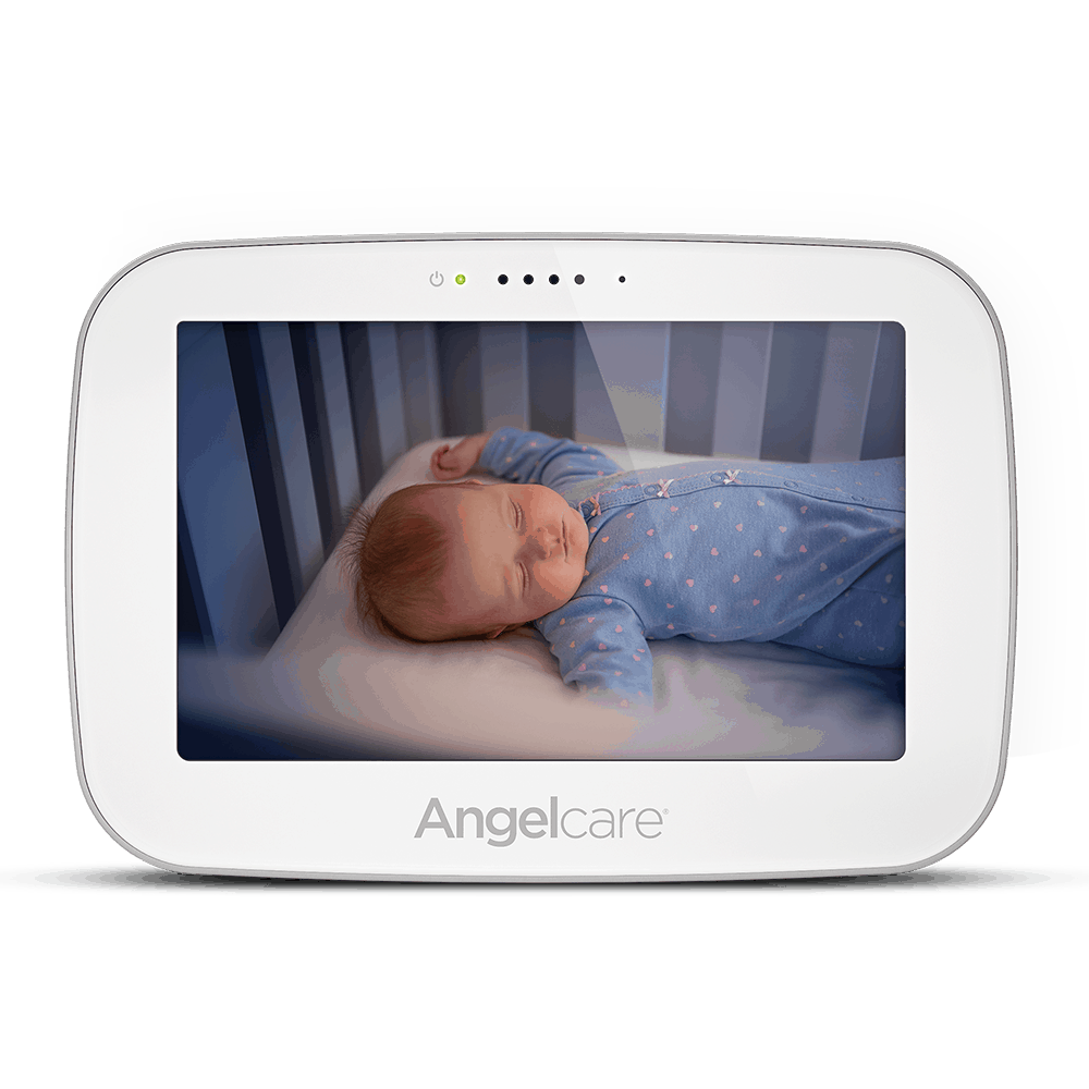 The parent unit's crystal clear video.- Angelcare AC517 Review | Baby Journey