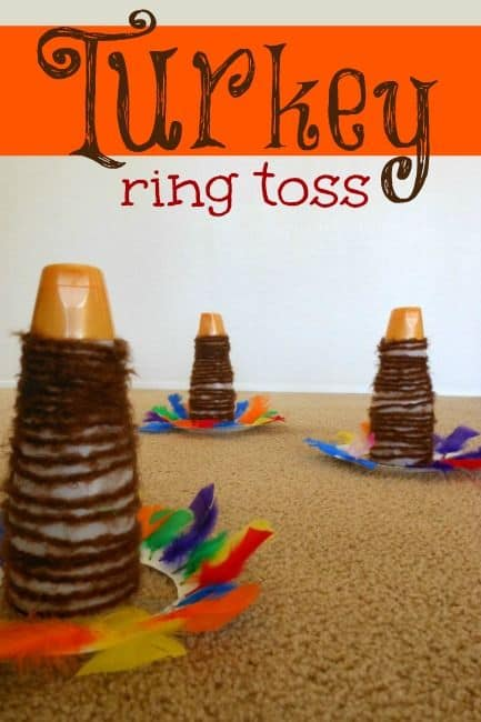 Super Simple Turkey Ring Toss Thanksgiving Activity for Kids | HOAWG | Thanksgiving  activities for kids, Thanksgiving activities, Thanksgiving games for kids
