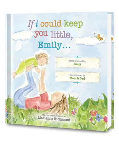 a heartfelt book as a christmas present for your baby