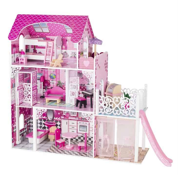a barbie doll house for baptism
