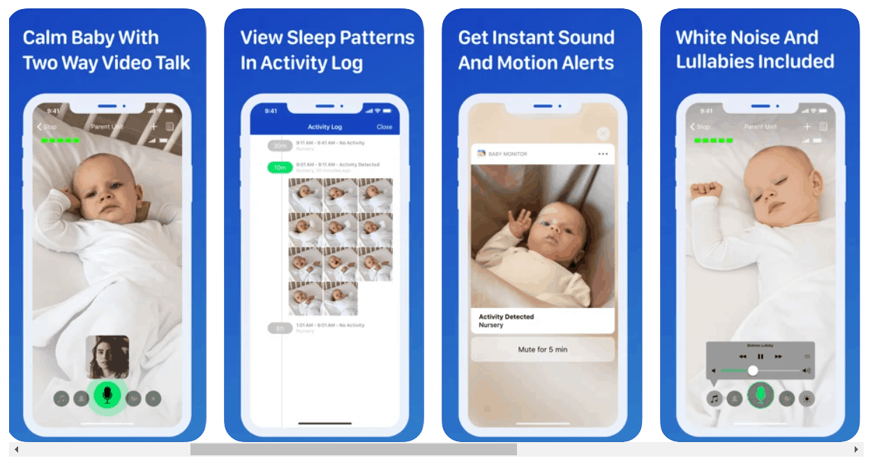 Cloud baby monitor. - Best Baby Monitor App Review | Baby Journey