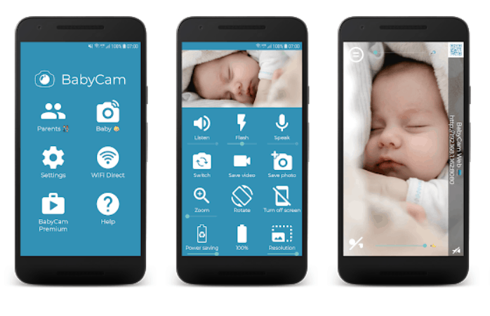 BABY CAM baby monitor app. - Best Baby Monitor App Review | Baby Journey