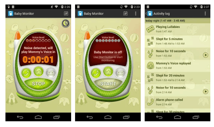 Baby Monitor & Alarm baby monitor app. - Best Baby Monitor App Review | Baby Journey