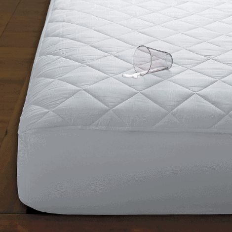 Waterproof mattress pads protect your mattress from all kinds of liquids. . -How to Get Vomit Smell Out of Mattress | Baby Journey