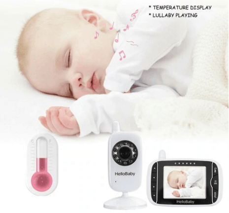 The temperature sensor. - Hello Baby Monitor Review | Baby Journey