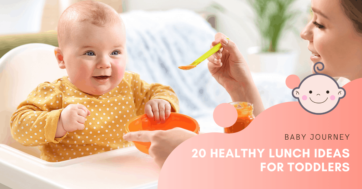 Healthy Lunch Ideas for Toddlers | Baby Journey