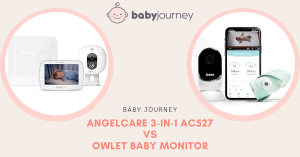 Angelcare vs Owlet Baby Monitor Review | Babyjourney