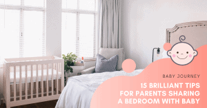 sharing bedroom with baby