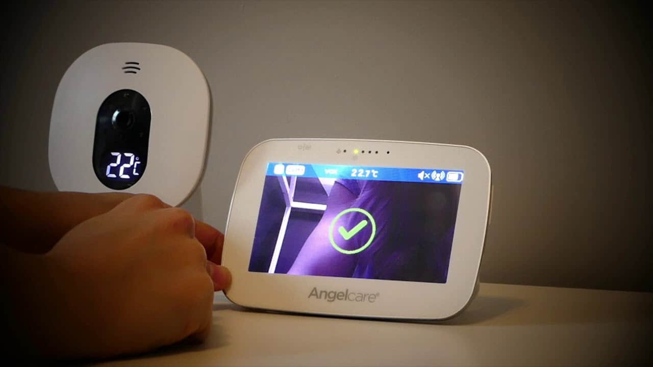 You can adjust settings and monitor your baby via parent unit for the Angelcare AC527. - Angelcare vs Owlet Baby Monitor Review | Baby Journey