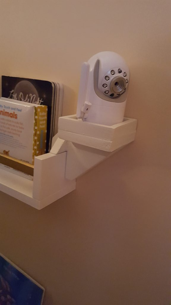 Getting the best viewing angle is important for video baby monitors. - Where to Put Baby Monitor?   Baby Journey