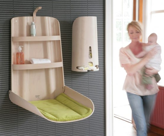Ergonomic Baby Changing Tables By Bybo