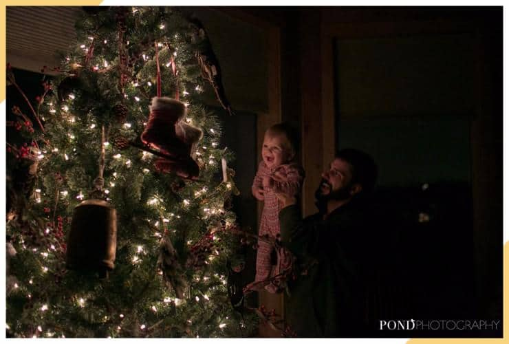 do it yourself baby christmas pictures - christmas magic