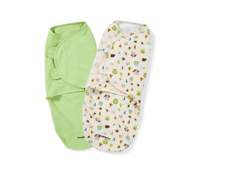 Swaddle sacks usually have adjustable hooks and closures for easy wearing. - How Many Swaddles Do You Need? | Baby Journey