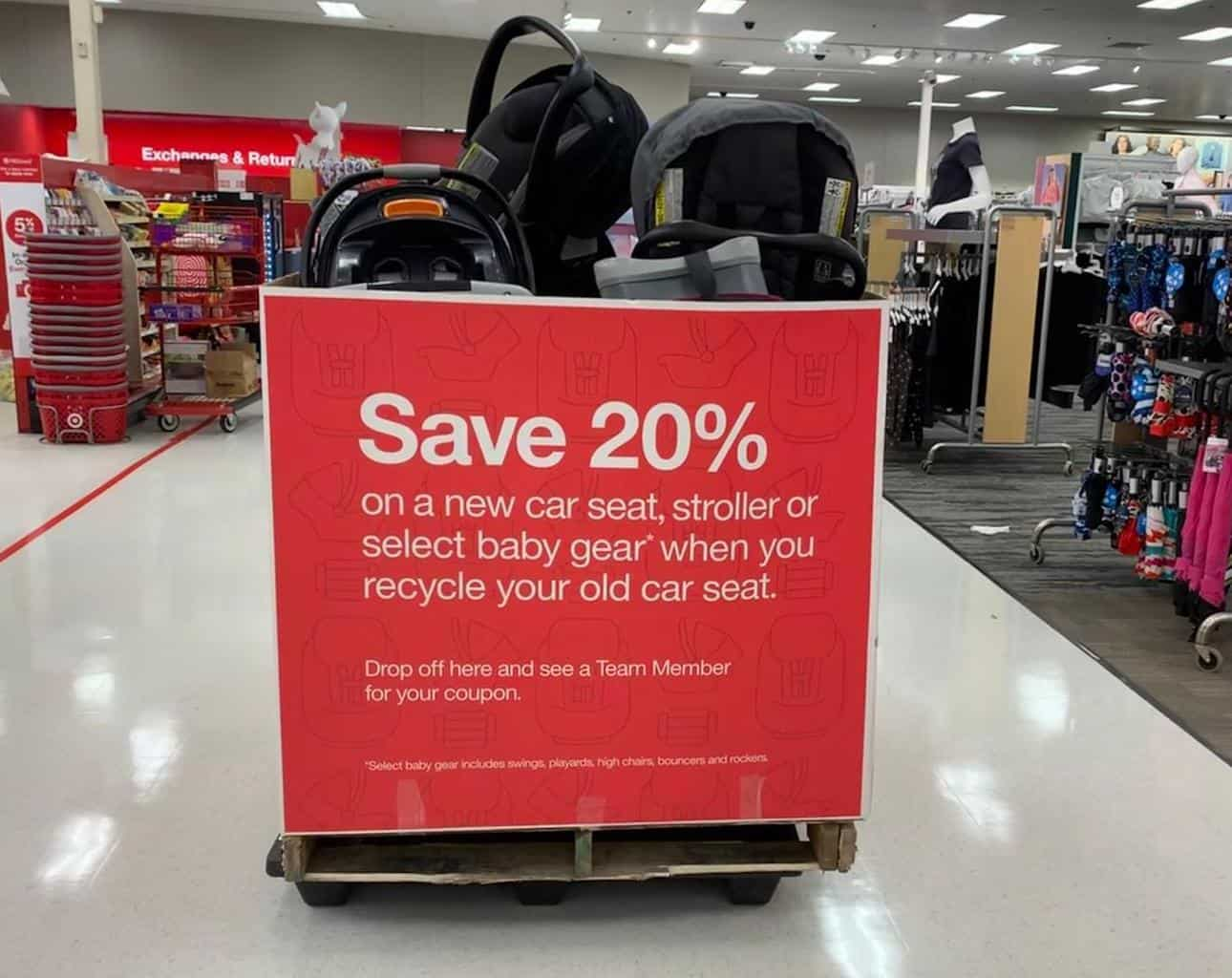 Target car seat trade-in 2020: Recycling event returns Sept. 13