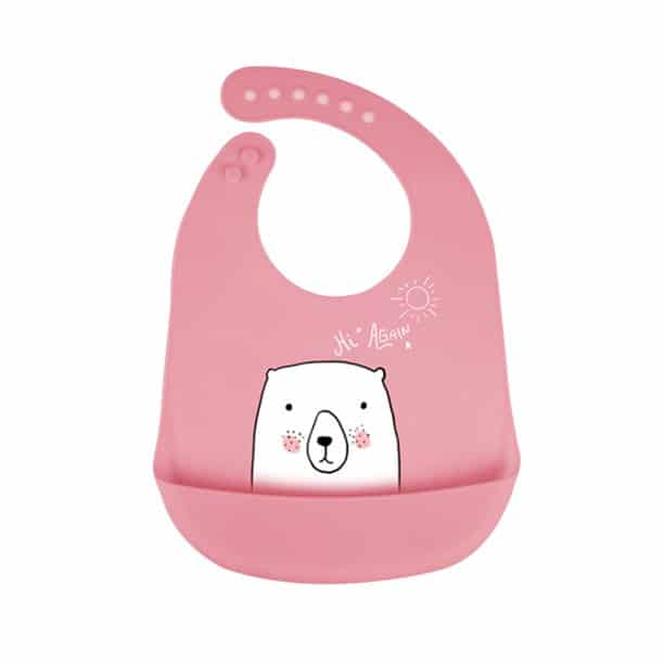 Some feeding bibs can even be as cute as this one! - How Many Bibs Do I Need for my baby?   Baby Journey