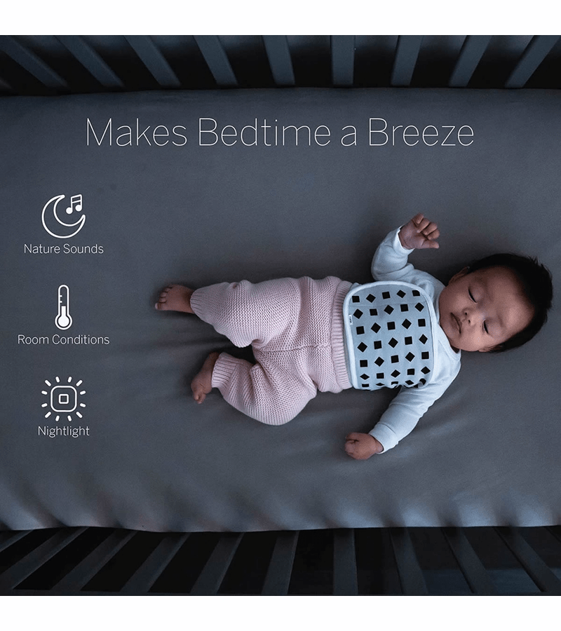 The Nanit breathing wear. - Nanit vs Owlet Baby Monitor Review | Baby Journey