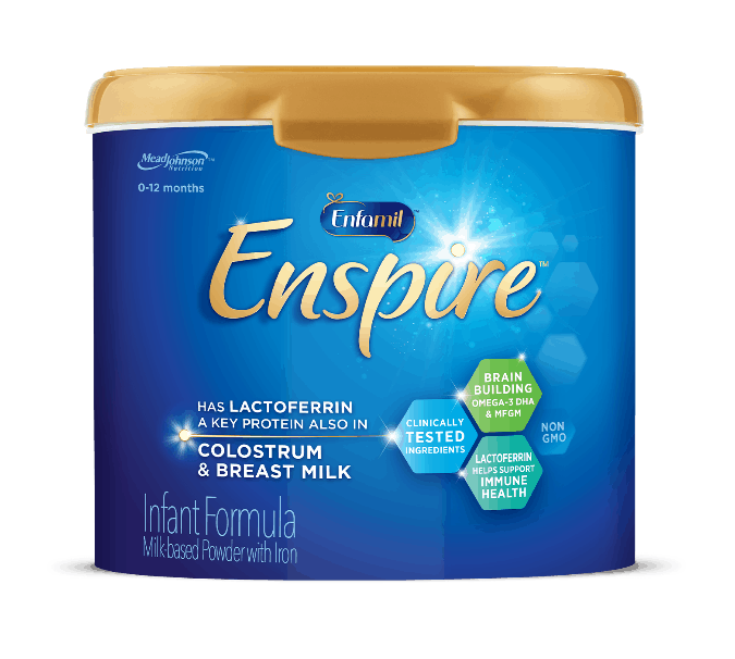 switch baby formula to enfamil enspire infant formula when necessary