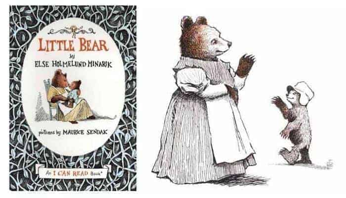 Maurice Sendak's illustrations in the Little Bear book are stunning! - What Do Godparents Buy for Baptism | Baby Journey