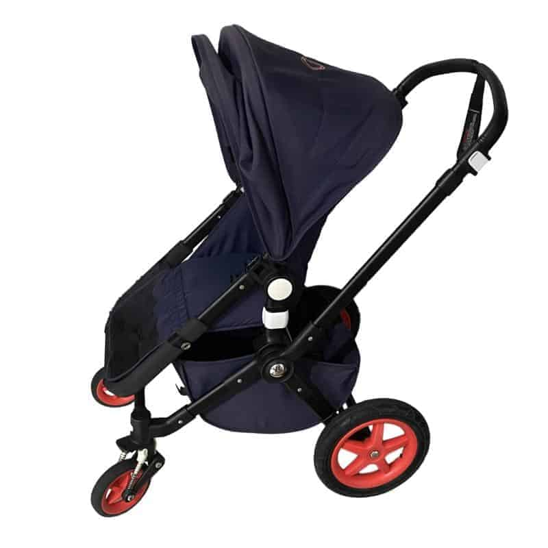 The hand operated brake adds another level of safety. - Bugaboo Cameleon 3 | Baby Journey