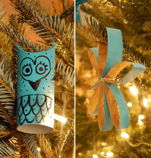 toddler christmas craft ideas - toilet paper roll craft