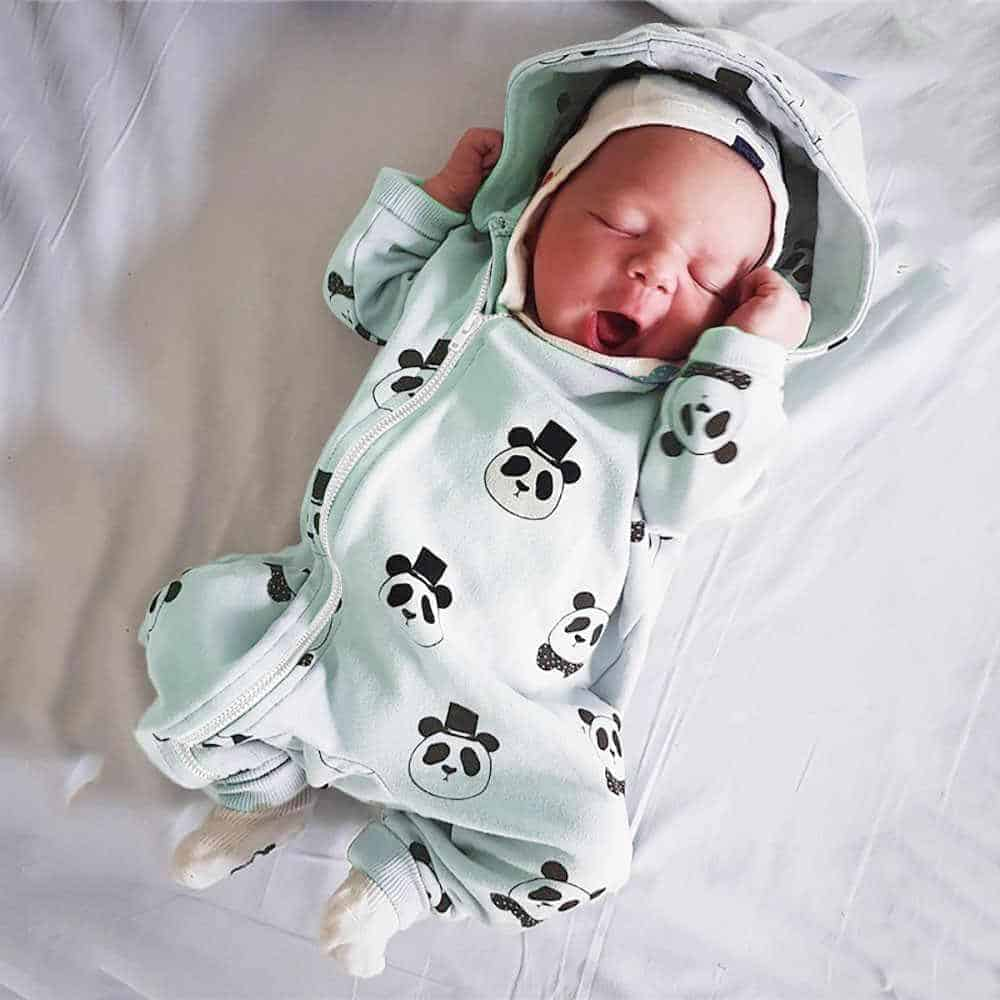 Newborn clothes are cute but it can be tough to determine how many newborn clothes you need. - How Long do Babies Wear New Born Clothes |  Baby Journey