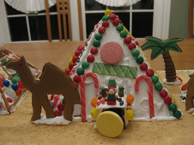 christmas craft for toddlers pinterest - Let's Make a Pyramid Out of Cookies