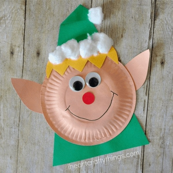 elf craft for toddlers christmas