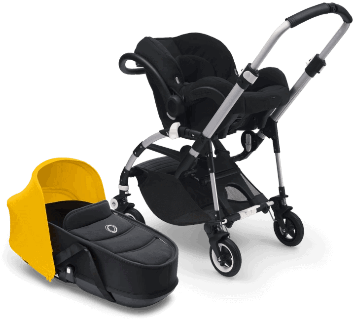 The inclusion of the bassinet makes it extra versatile. - Bugaboo Bee 5 | Baby Journey