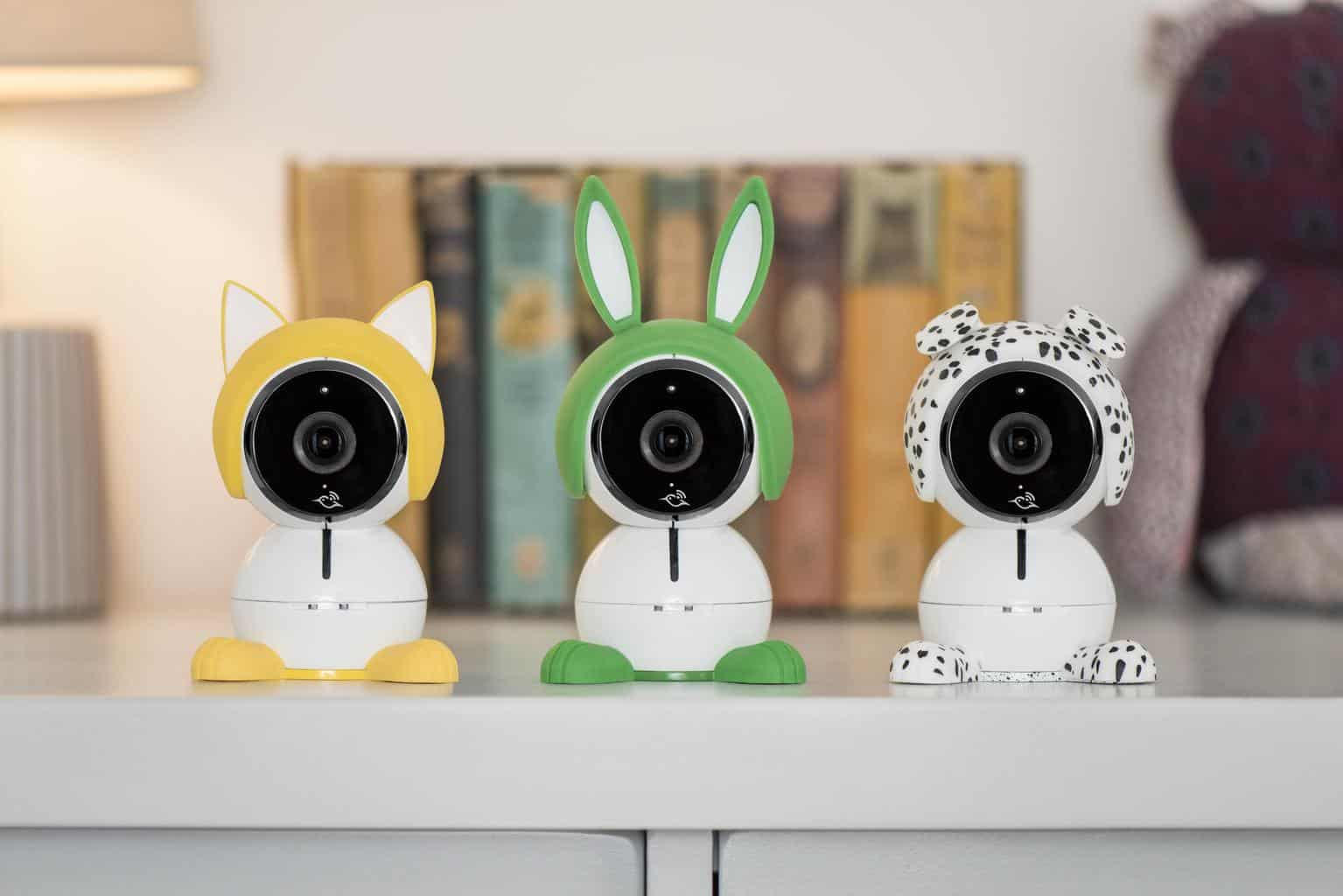 You can change to one of the three different ears for a cuter look! - Arlo Baby Monitor Review | Baby Journey