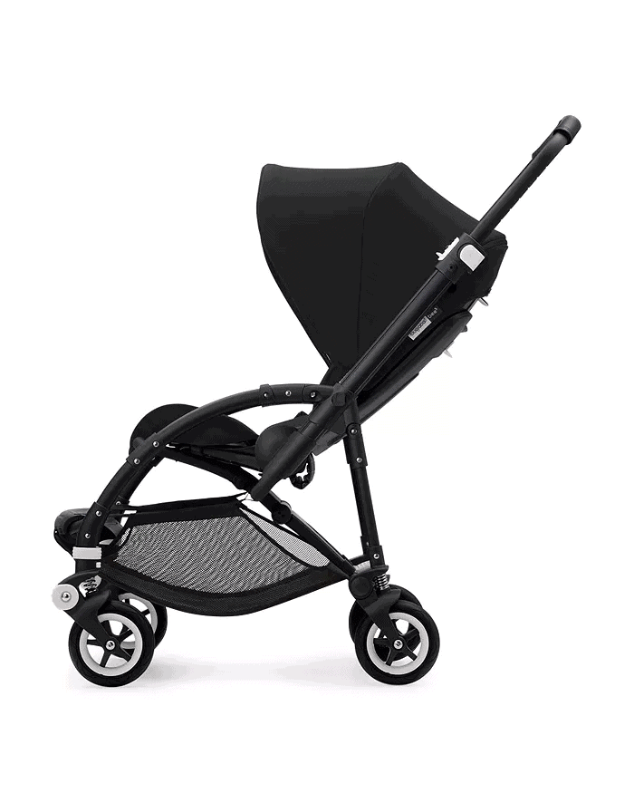 The lower storage basket is spacious but has a 8.8lbs limit. - Bugaboo Bee 5 | Baby Journey