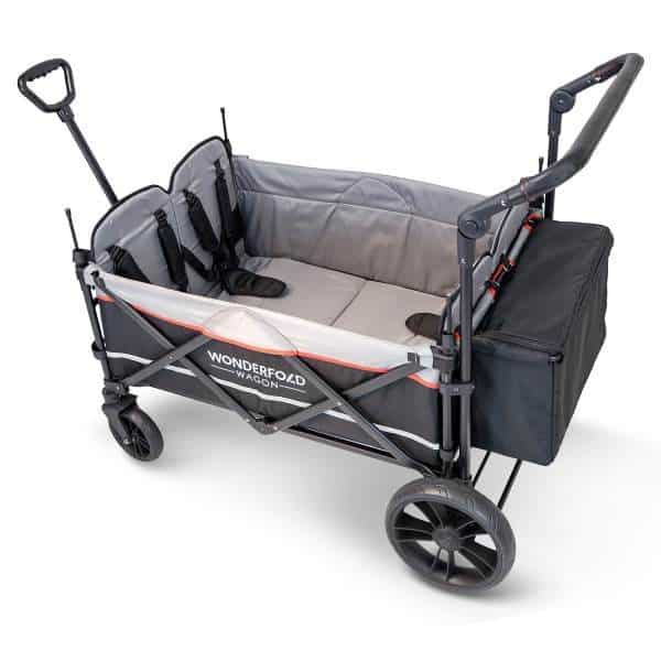 A stroller wagon, like the name suggests, is a combination between a stroller and a wagon that is safe and sturdy for carrying both your kids and goods. - Best Stroller Wagon | Baby Journey