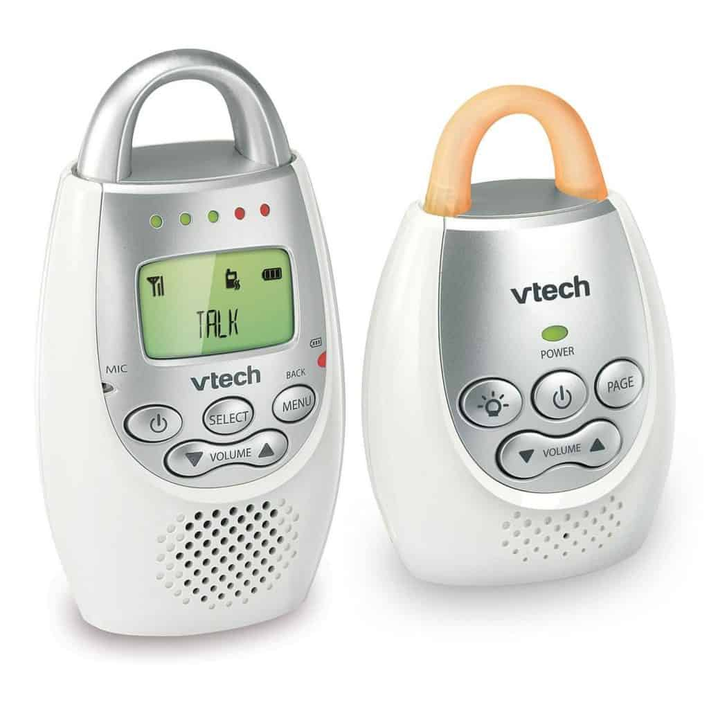 DM221 has multiple features with convenient usability, however, its button placement may cause issues if user is not paying proper attention. - Vtech DM221 Review | Baby Journey