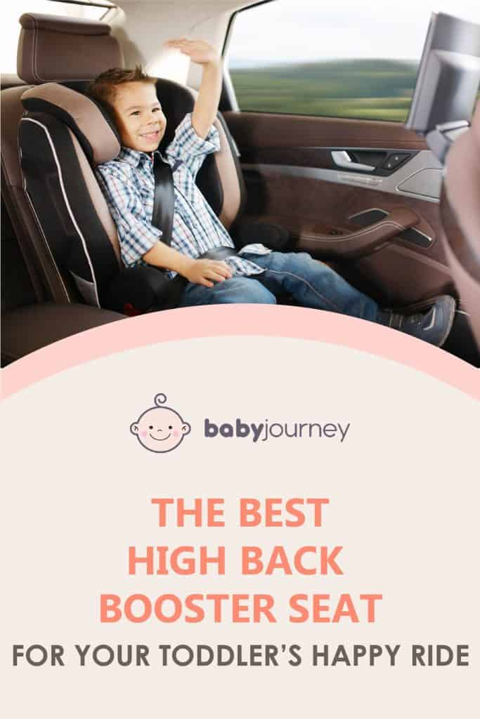 best high back booster seat | Baby Journey
