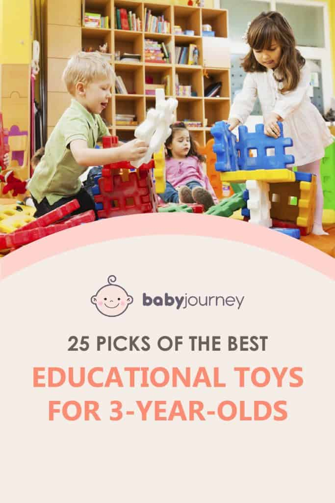 Best Educational Toys for 3-Year-Olds | Baby Journey