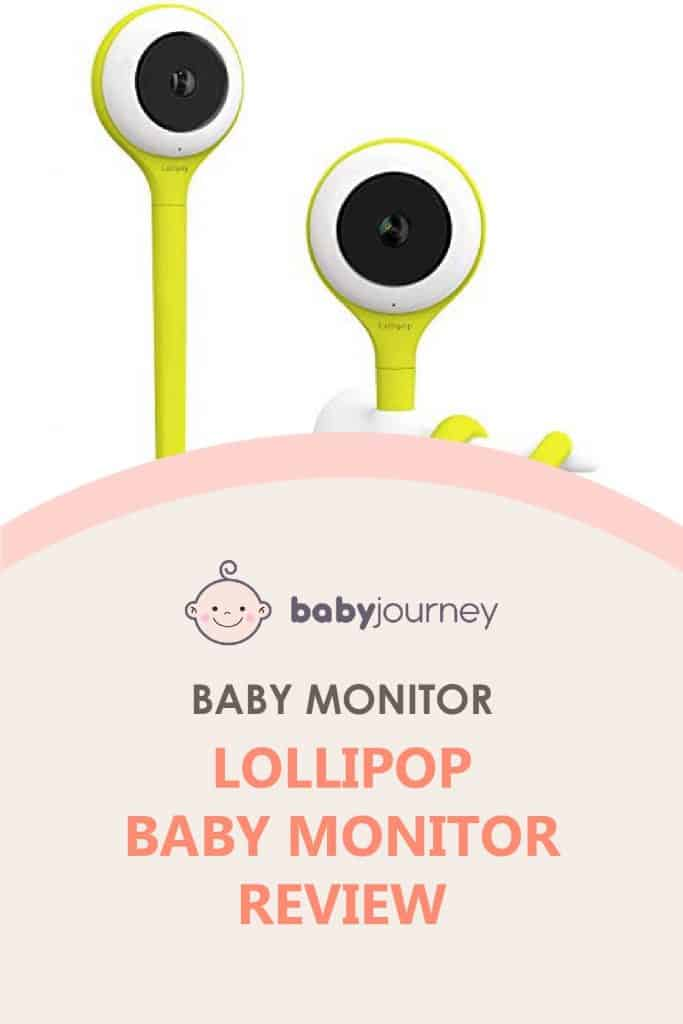 Lollipop Baby Monitor Review   Baby Journey