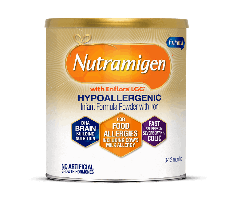 Nutramigen Infant Formula. - How to Tell if Your Baby Needs Soy Formula | Baby Journey