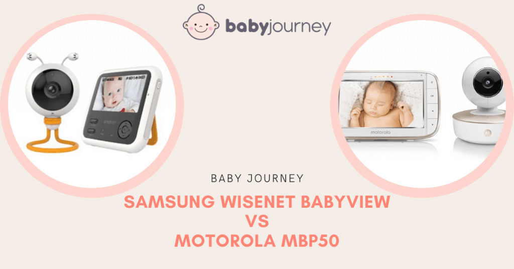 Samsung vs Motorola Baby Monitor | Baby Journey