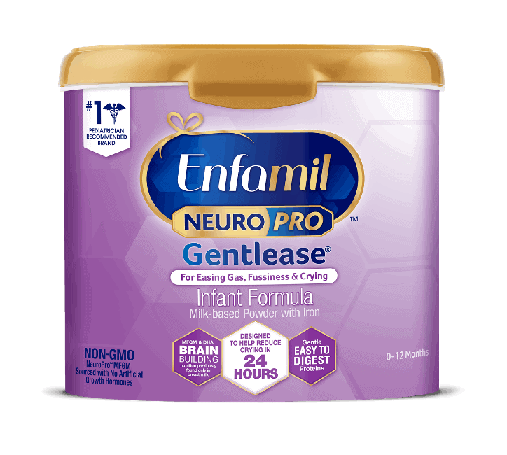 The Enfamil NeuroPro Gentlease formula. - How to Tell if Your Baby Needs Soy Formula | Baby Journey