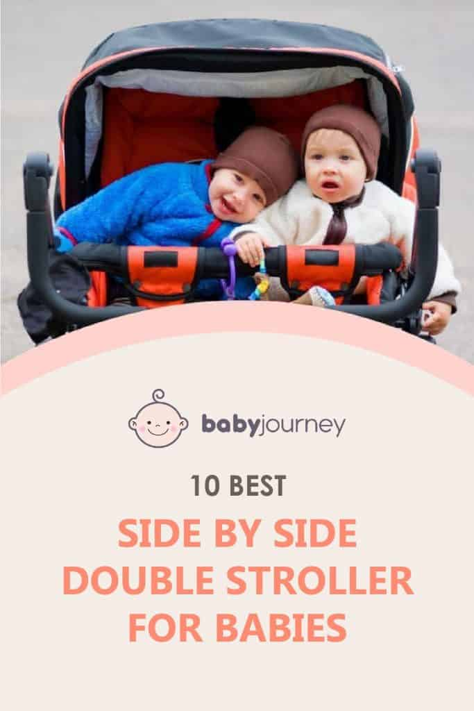 Best Side By Site Double Stroller | Baby Journey