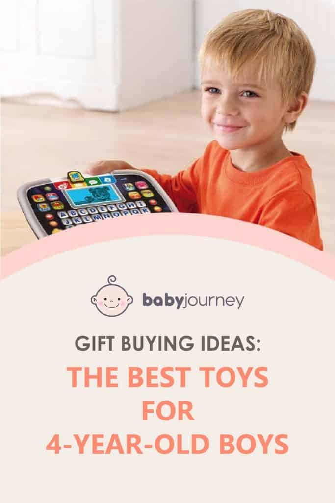 Best Toys for 4-Year-Old Boys | Baby Journey