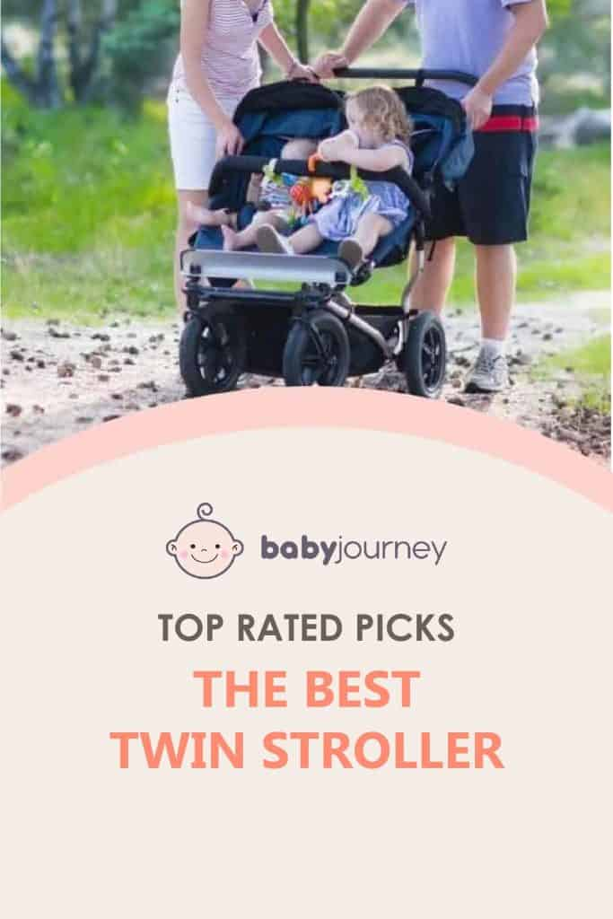 Top Rated Picks of The Best Twin Stroller | Baby Journey