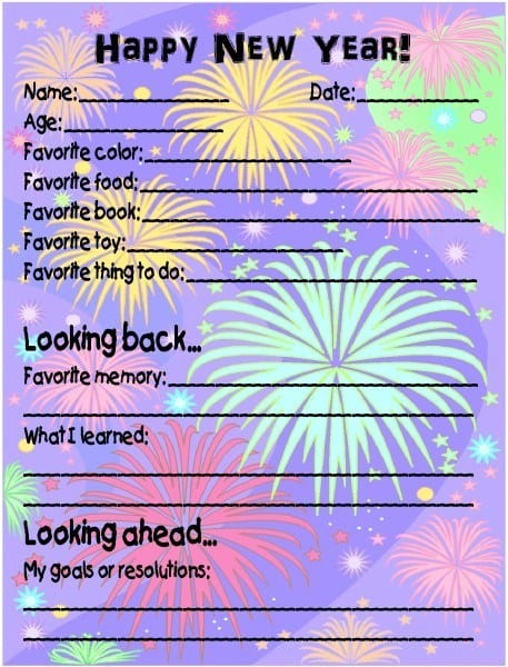 How to Make a New Year's Time Capsule
