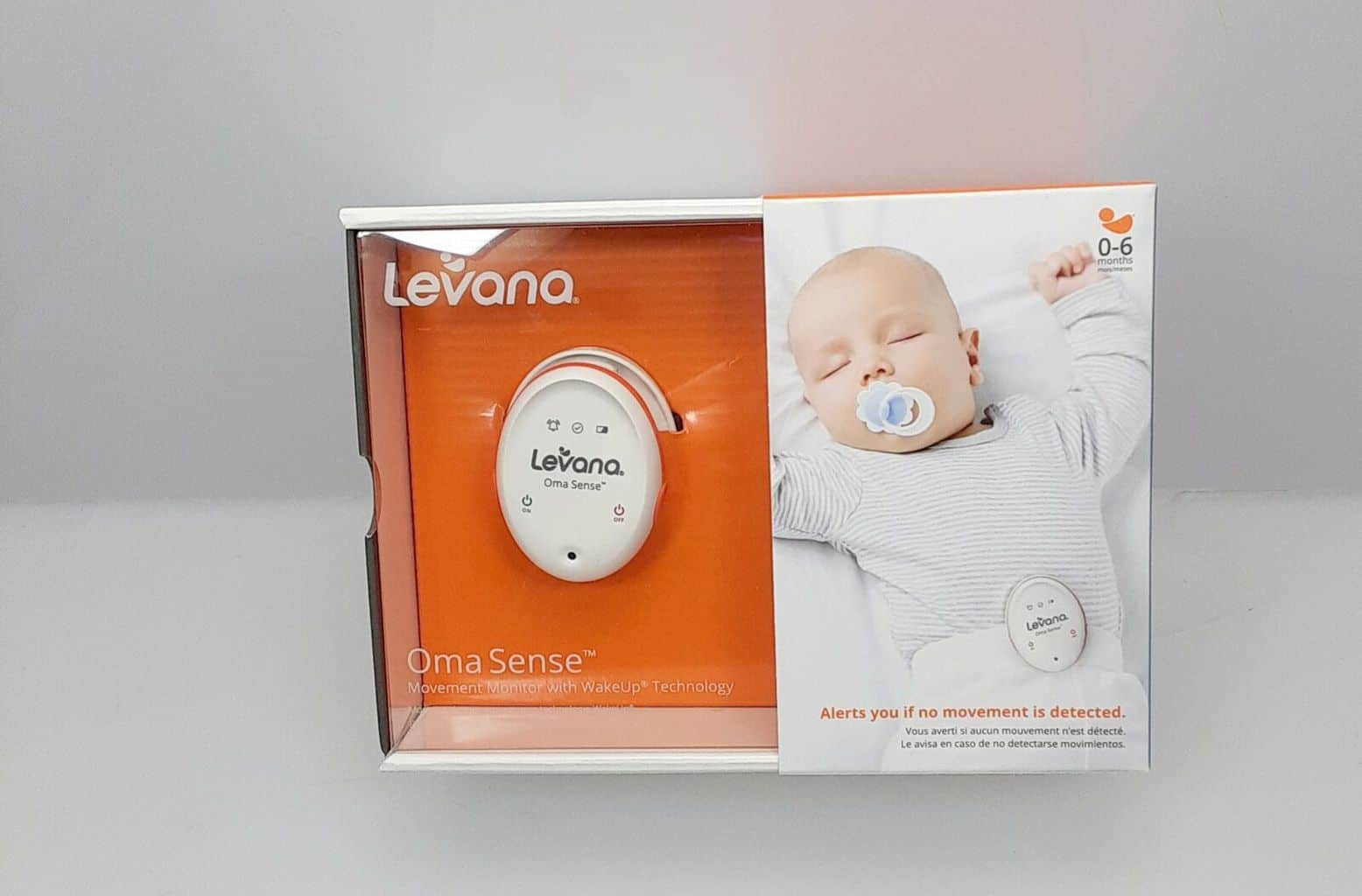 Levana baby movement monitor is handy and lightweight. - Levana Baby Monitor Review | Baby Journey
